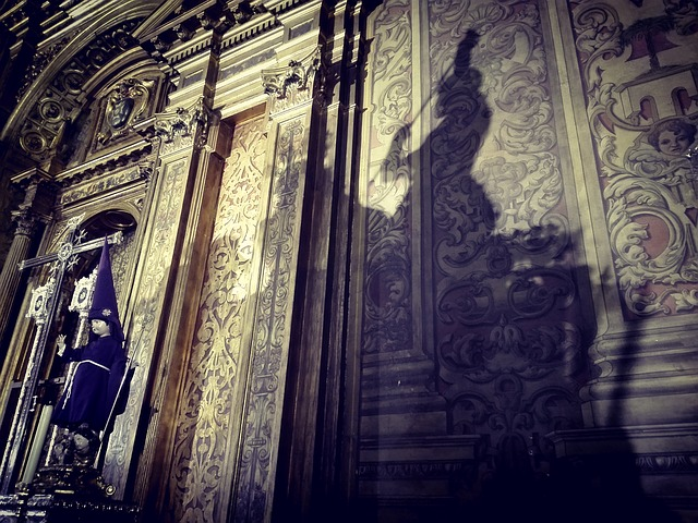 Cathedral Sevilla. Sombras